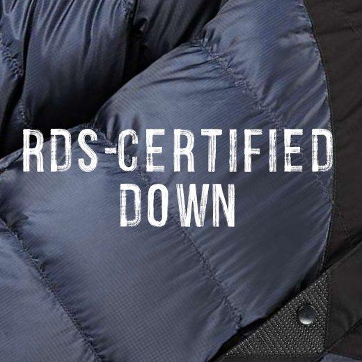 certified down