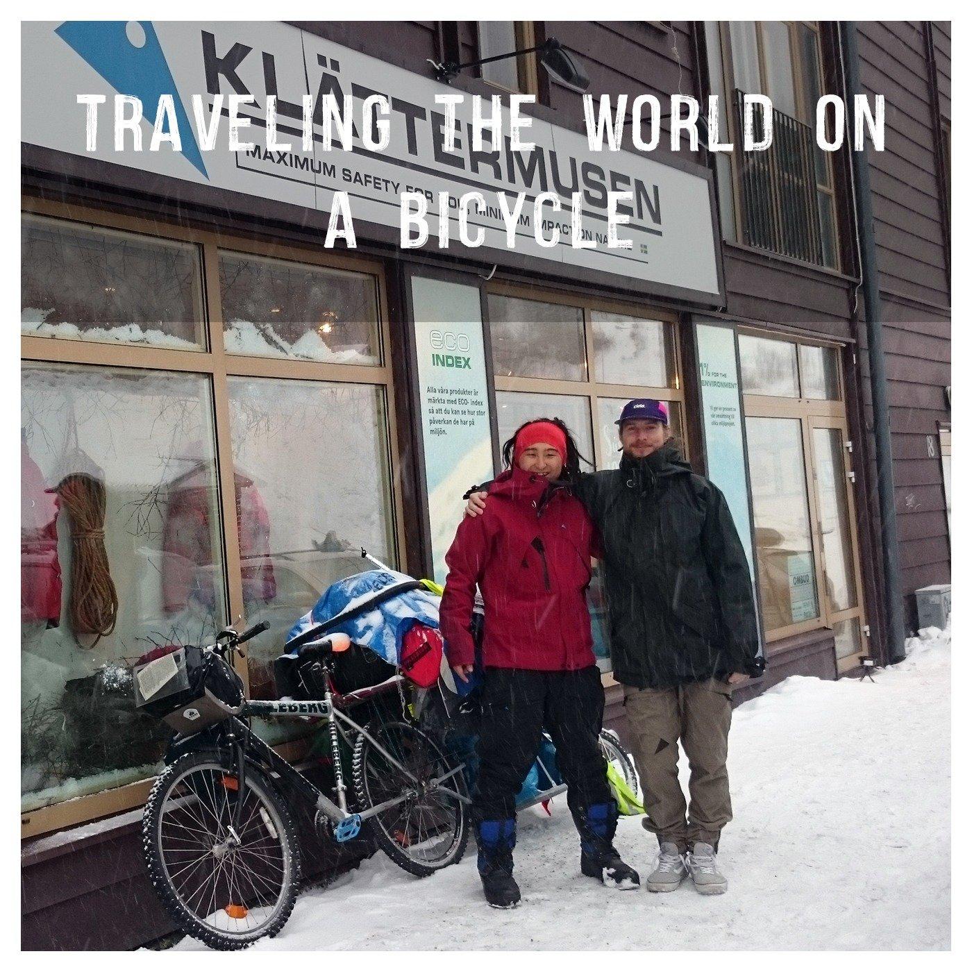 Satoru Yamada, Traveling The World On A Bicycle